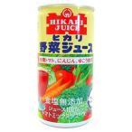 ショッピングトマトジュース 【送料無料】光食品 有機トマト・にんじん・ゆこう使用野菜ジュース 食塩無添加 190g×30缶