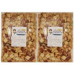 グルメな栄養士の のりセサミ&ミックスナッツ  1kg(500g×2袋)【アーモンド/カシューナッツ/クルミ/マカダミア/セサミクラッカー】 nuts