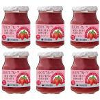 信州須藤農園 砂糖不使用 100%フルーツ ストロベリージャム 190g×6個   【スドージャム 製菓材料 いちごジャム 苺】