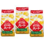小麦ソムリエの底力 薄力小麦粉 ハート(薄力粉 ニップン) 1kg×3袋