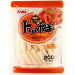 ユウキ食品 国産トッポギ  200g   【YOUKI 国内産 韓国食材 国内産米粉 韓国餅】