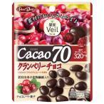 グルメな栄養士セレクト洋菓子 カカオ70クランベリーチョコ 41g  【果実Veil 正栄デリシィ チョコレート ぶどうチョコ】