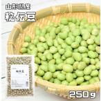 豆力 山形県産 秘伝豆 250g  【ひでん豆 国産 青大豆 枝豆 だいず】