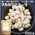 世界美食探究 オーストラリア産 マカダミアナッツ 250g【薄塩ロースト仕上げ】