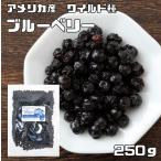 世界美食探究 アメリカ産 ブルーベリー(ワイルド種) 250g