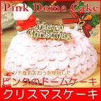 クリスマスケーキ 2021 予約 送料無料 あまおういちご使用 ピンクのドームケーキ プレゼント お取り寄せ ギフト 早割り 早期割引