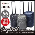 【30%OFF】【正規品】【送料無料】エース(ACE) carybrick キャリブリック 2WAYソフトキャリー 56L 59012