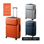 スーツケース ACE エース 72L 日本製 キャリーケース 1週間程度 4輪 TSAロック プロテカ ポケットライナー 01832