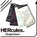 HERcules ハーキュリーズ オーガナイザー パスポートケース パスポートカバー【メール便配送可能】