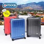 アウトドアプロダクツ スーツケース OUT DOOR ジッパー キャリーケース 95L OD-0692-68