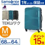 スーツケース サムソナイト Samsonite 64L キャリーケース 3-5泊用 4輪 TSAロック カメレオン TEKU DY8*002