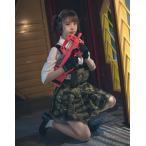 武装JK タイガーストライプ コンバット プリーツスカート セーラー服