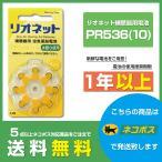 RION 補聴器 空気電池 PR-536 10