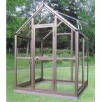アルミ製 ガラス温室 チャッピーB1型 1坪