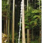 アルミ製 枝打はしご ワンダ用 中はしご 全長164cm[枝打ち 梯子]