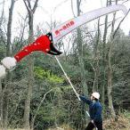 ニシガキ 枝打ち一発 N-763 伸縮最長6.5m [枝打ち鋸 のこぎり]