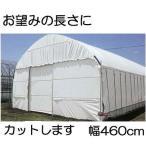 農PO ハクリョク 厚み0.15mm幅460cm 長さ30m価格 両面仕様(白・緑) 農業用倉庫 三菱ケミカルアグリドーム