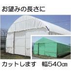 農POフィルム ハクリョク 厚み0.15mm×幅540cm×長さ30m 重さ約24.8kg 両面仕様 30m価格 (白・緑) 農業用格納庫 倉庫 三菱ケミカルアグリドリーム