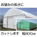 農POフィルム ハクリョク 厚み0.15mm×幅800cm×長さ30m 重さ約36.7kg 30m価格 両面仕様 (白・緑) 農業用格納庫 倉庫 三菱ケミカルアグリドリーム