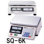 店舗用料金はかり デジタル上皿はかり SQ-6K 秤量3kg 検定付 エーアンドデイ