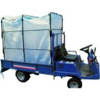籾殻コンテナー もみがらコンテナー ホロコン 運搬車用・シート型 HSU-104S
