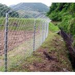 イノシシ侵入100%防止柵 猪ガードフェンス100mセット 忍び・折返しタイプ