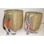国産 手編み背負い籠(小) 竹かご 竹細工