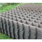 イノシシ侵入100%防止柵用金網 線径3.2mm×網目100mm 6枚組