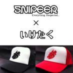SNIPEER スナイパー ×いけたく SYMBOL CAP