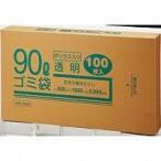クラフトマン ゴミブ黒 透明 90LX100枚(10セット)