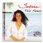 タヒチアンCD  Sabrina To'u Fenua サブリナ  タヒチアンメロディー ミュージック クロネコDM便で送料100円