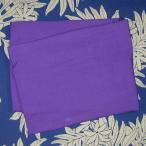 ハーフパレオ 無地 紫パープル PAREO ショートパレオ タヒチアンダンス 衣装 ポイント2倍