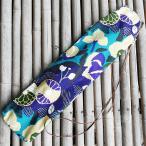 篠笛袋 2管入れ がま口 風雅  しのぶえ袋 しの笛袋