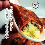 送料無料たっぷり24個入り 手作りジャンボ赤餃子(生冷凍6個×4)