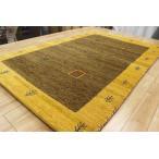 ラグ マット 1.5畳 激安 ギャッベ 絨毯 インド製 ウール緞通 ギャベ カーペット 安い 厚手  ギャベ手織り緞通 約1.5畳 約120×180cm