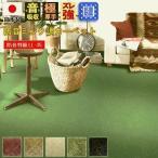 カーペット 6畳 絨毯 防音 LL-35 じゅうたん 江戸間6帖カーペット オーシャン/オースギ