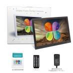 デジタルフォトフレーム,15.4 インチ デジタルフォトフレーム 1280x800 フルHD解像度 LCDバックライト液晶パネル 写真・動画