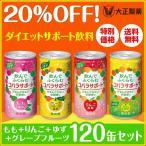 低カロリー ダイエット 炭酸飲料 コバラサポート 120缶セット