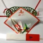 ショッピングかご 祝い鯛用かご、飾り、敷き紙、尾のし、レシピ付き( 食器 )