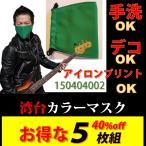 緑マスク/イベント/コスプレ[40%Off同色5枚]
