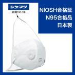 N95マスクは米国労働安全衛生研究所規格に合格したマスクです。