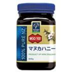 マヌカハニー MGO100+(500g) ※自生マヌカ花蜜100%の純粋はちみつ マヌカ特有の香りと深みのある味わい お徳用