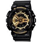 ショッピングShock G-SHOCK ジーショック 腕時計 ブラック ゴールド Black × Gold Series GA-110GB-1AJFメンズ