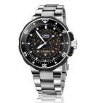 ORIS Prodiver オリス 腕時計 プロダイバー ポインタームーン 自動巻き チタン Ref.761 7682 7154 Set 国内正規品