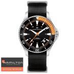 HAMILTON ハミルトン 腕時計 カーキネイビー スキューバオート Khaki Navy Scuba  Auto 自動巻き H82305931 メンズ 国内正規品