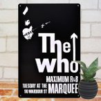 ブリキ看板 The Who ザフー/// アメリカン雑貨 1000種類