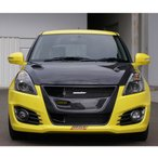 スイフトスポーツZC32S用フロントグリル「モンスタースポーツカーボンスポーツグリル」「797530-4850M」***要:別途特別運賃***