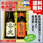 日本酒 飲み比べ セット 送料無料 720ml×2本 越乃景虎 龍 / 想天坊 大辛口 ギフト プレゼント 2021 60代 70代 80代