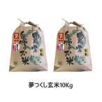 令和元年産 新米 福岡県産 夢つくし 玄米 10kg (5kg×2袋) 農家直送 送料無料