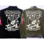 ショッピングエヴァンゲリオン エヴァンゲリオンXローブローナックルコラボ ASKA ROCKS SWEAT MA-1ジャケット